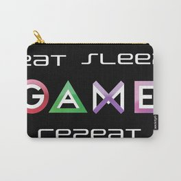 Eat, Sleep, Game, Repeat Carry-All Pouch