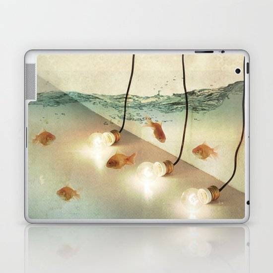 ideas and goldfish Laptop & iPad Skin