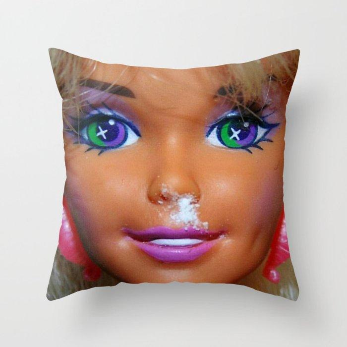 Weekend Mess Throw Pillow