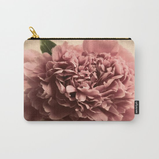 Shabby Peony  Carry-All Pouch