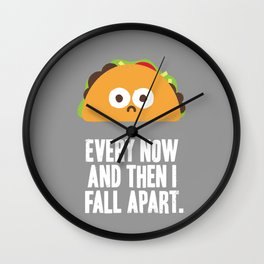 Taco Eclipse of the Heart Wall Clock