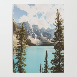 Moraine Lake II Banff National Park Poster