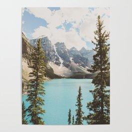 Moraine Lake II Banff National Park Poster