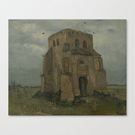 The Old Church Tower at Nuenen Canvas Print