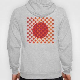 """""""Warm Burlap Texture & Polka Dots"""" Hoody"""