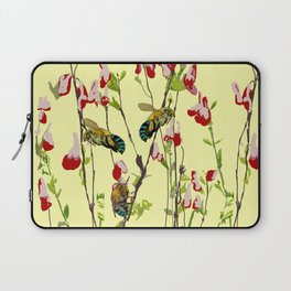 The Blue Banded Bee (Amegilla cingulata) Laptop Sleeve