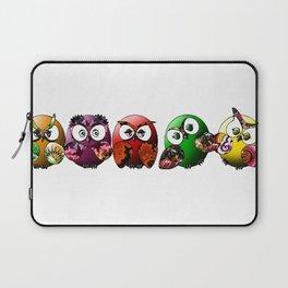 Owls Family Laptop Sleeve