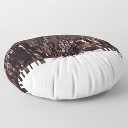 Barcode 13. Floor Pillow