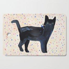 Kitty Cutting Board