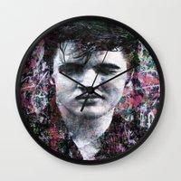 elvis Wall Clocks featuring ELVIS PRESLEY by Vonis