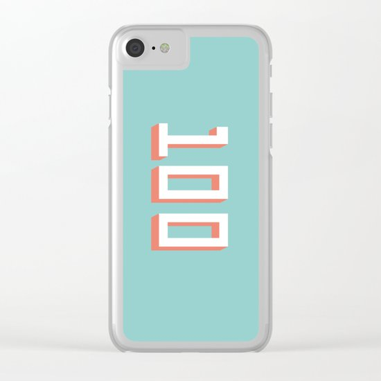 The 100 Clear iPhone Case