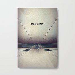 Tron Legacy Metal Print