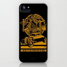 AND HOT ROD iPhone Case
