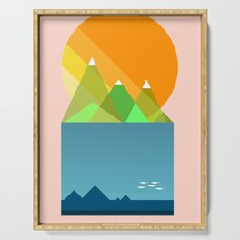 Sun mountains Serving Tray