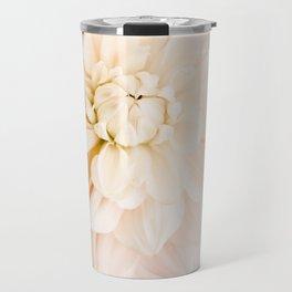 Vanilla Truffle Dahlia Travel Mug
