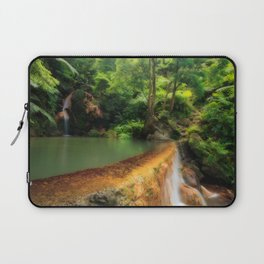 Thermal pool in Azores Laptop Sleeve