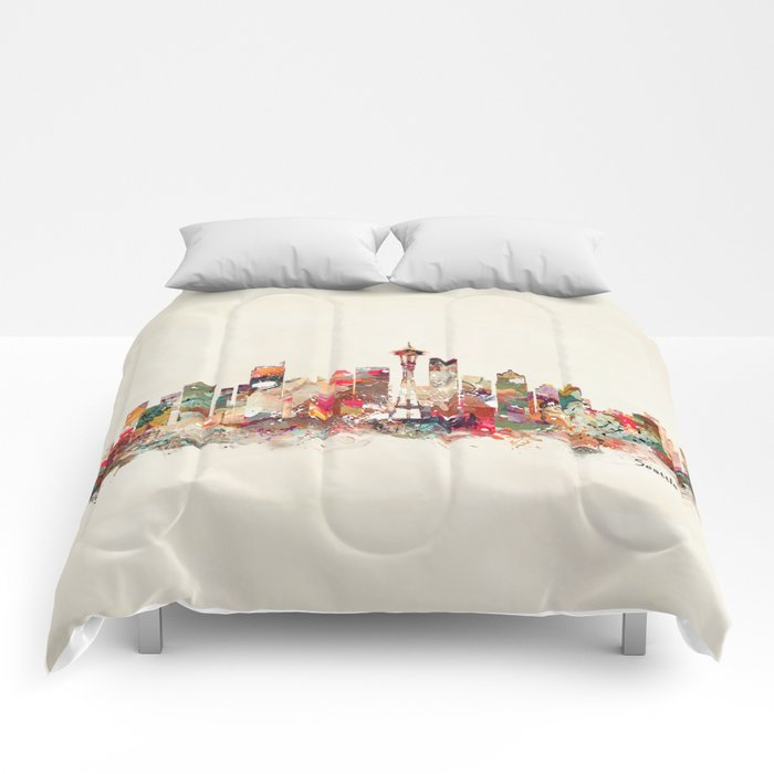 seattle washington Comforters
