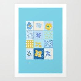 KIM'S DESIGN Art Print