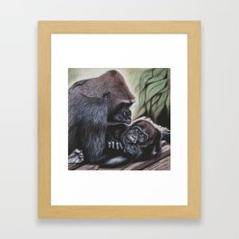 Sekani and Adelina Framed Art Print