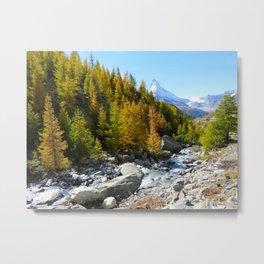 Array of Alps  Metal Print