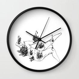 Evaporate- 2 Wall Clock