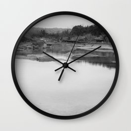 Reflecting Wall Clock