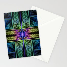 Classical Fractal Stationery Cards