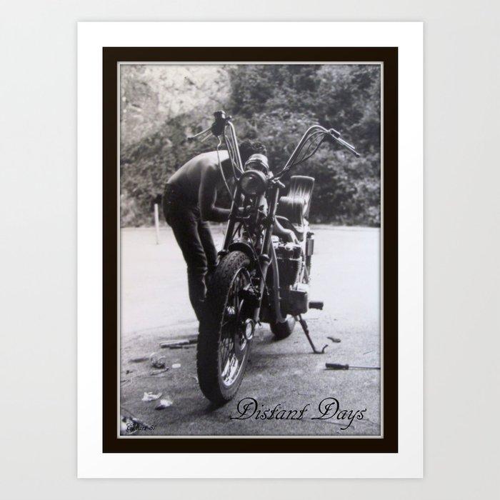 Distant Days Art Print