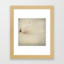 change (two) Framed Art Print