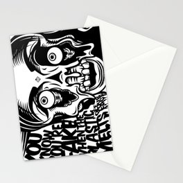 You know you're fake. Stationery Cards