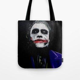 "The Joker ""Heath Ledger"" Tote Bag"
