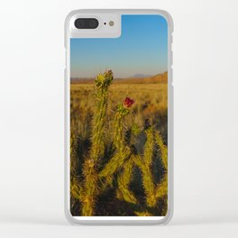 Arose in the Desert Clear iPhone Case