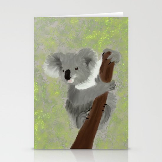 Koala Bear Hanging In There by melindatodd