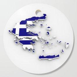 GREECE LOVE Cutting Board