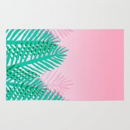 So Fine - palm springs desert plants indoor tropical oasis nature neon memphis throwback 1980s style Rug