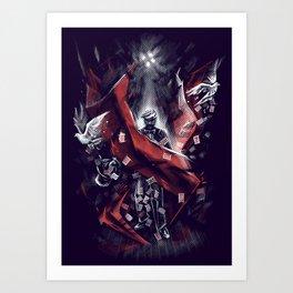Final Trick Art Print