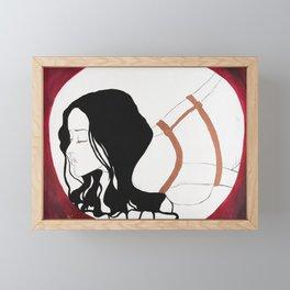 Tie me up, Tear me apart Framed Mini Art Print