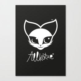 ALLKATZE * Space Cat - Weltraum-Katze - Chat d'Espace Canvas Print