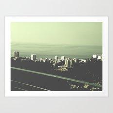 Haifa Art Print
