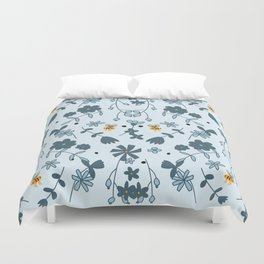 Bumbling and Busy Duvet Cover