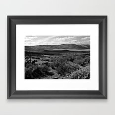 In Cochimi 's territory Framed Art Print