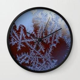 Winter leann snow christmas nature Wall Clock
