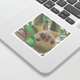 Suzie Sloth Sticker
