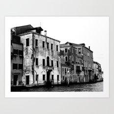 SWAMP VENICE II Art Print