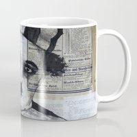 chaplin Mugs featuring Charles Chaplin  by Krzyzanowski Art