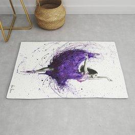 Purple Rains Ballet Rug