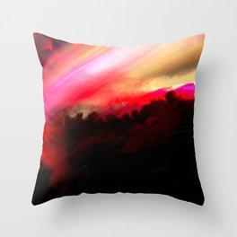 Light Horizon Throw Pillow