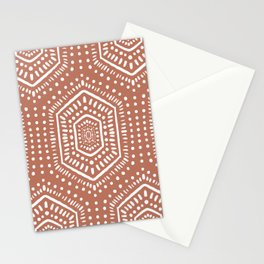 Boho Painted Soft Clay Stationery Cards