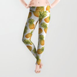 Pineapple Glittering Party Leggings
