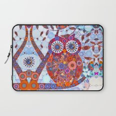 If Klimt Painted An Owl :) Owls are darling birds! Laptop Sleeve